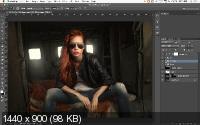 Adobe Photoshop. Ретушь бьюти-съемки (2018)