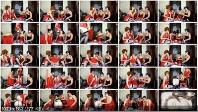 ModelNatalya94 - Four girls play cards on desire [Shitting Girls / 1.44 GB] FullHD 1080p (Milf, Lesbians)