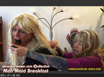 Veronica Moser, TV Andrea - VM61 - MAN MAID BREAKFAST [Hightide / 1.20 GB] HD 720p (Humiliation, Milf, Strapon)