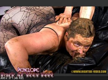 Hightide (Penelope, 1 male) PENELOPE - BACK AT YOUR FEET [HD 720p] Domination, Sex Scat, Blowjob