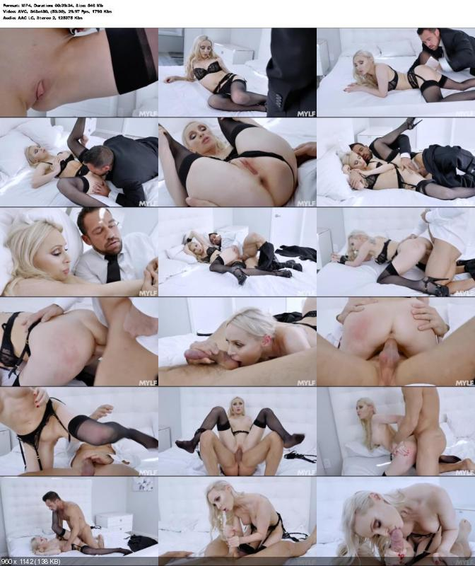 Natasha James - Birthday Suit And Tie (Blonde) [SD]
