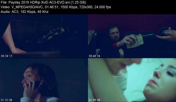 Payday 2018 HDRip XviD AC3-EVO[TGx]