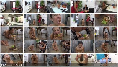 ShitGirls - Shit sandwich [Femdom Scat / 3.87 GB] UltraHD 4K (Humiliation, Brazil, Lesbians)