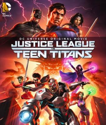Лига Справедливости против Юных Титанов / Justice League vs. Teen Titans (2016) BDRemux