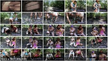 Outdoor Scat (ModelNatalya94) Memoirs about summer. Video 1 [FullHD 1080p] Shitting Girls, Lesbians